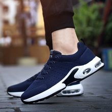 NIDENGBAO Running Shoes Autumn Winter Style Sports Women Sneakers Couple Footwear Breathable Air Cushion Outdoor