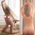 Bodyhose Sexy Pantyhose Tights Sick Cocoon Lingerie Pajamas Holds Sexy Womens SM S3800