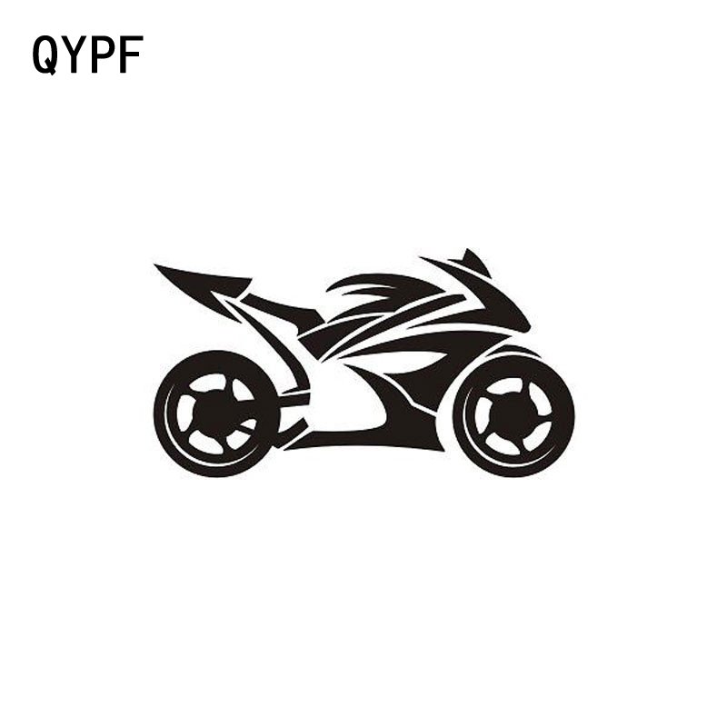 QYPF 14cm*7.5cm Personality Motorcycle Fashion Creative Sports Car Stickers S2-0293 dsu red goose stickers fashion personality creative 3d stereo poqiang effect wall stickers landscape painting