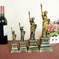 Vintage Decor Metall-handwerk Retro Freiheitsstatue Geburtstag Beste Geschenk Hause Dekoration Zubehör Tisch Figurine