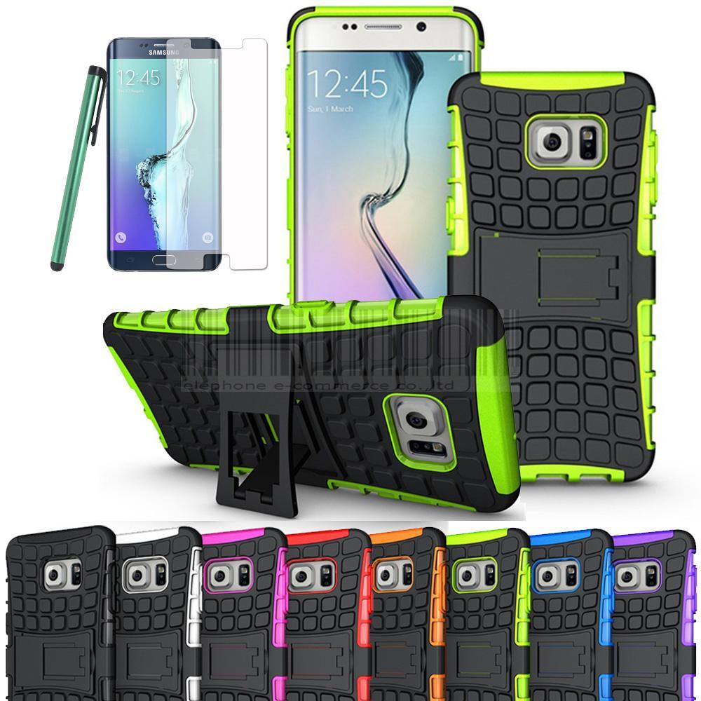 Gel Case For Samsung Galaxy S6 Edge Plus G928 Rugged Hybrid Armor Car Radio Wiring Panasonic W125 Hard Impact Stand Cover With Films Stylus