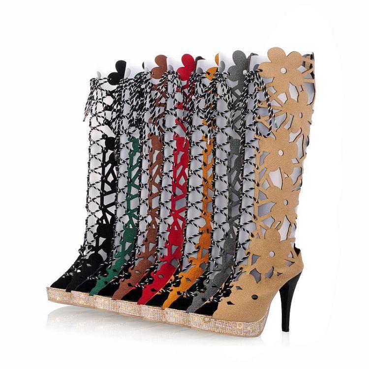 Ladies Shoes Gladiator Sandals Women Plus Size Shoes Women Sandals High Heels Sapato Feminino Summer Style Chaussure Femme X9 2017 size 35 43 black slippers sexy women platform sandals ladies pumps high heels shoes woman summer style chaussure femme