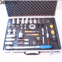 Common Rail Diesel Injector Repair and Disassemble Equipment Tool Set for Removing and Installing Fuel Injectors