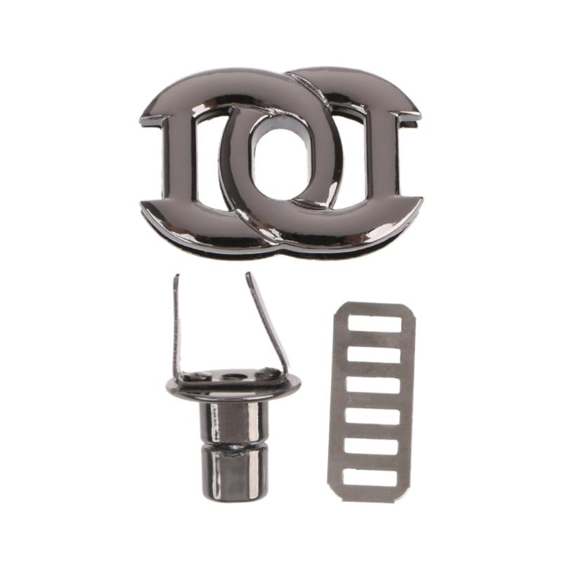 Metal Clasp Turn Lock Twist Locks For Diy Handbag Craft Bag Purse Hardware Quality First Luggage & Bags