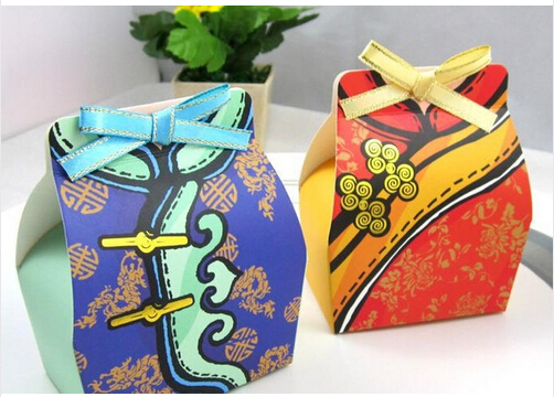 Most Popular Wedding Gifts: Free Shipping 100pcs/lot Most Popular Wedding Gift Boxes