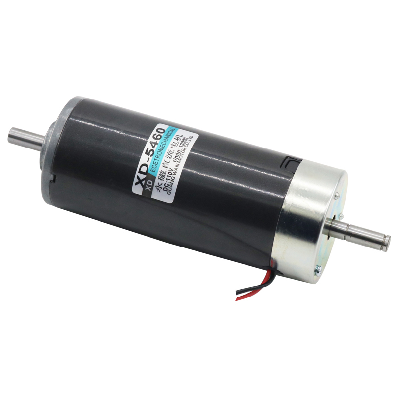 High-speed DC spindle motor, 500W CW/CCW double-outlet speed motor,5460 motor upair chase ccw motor
