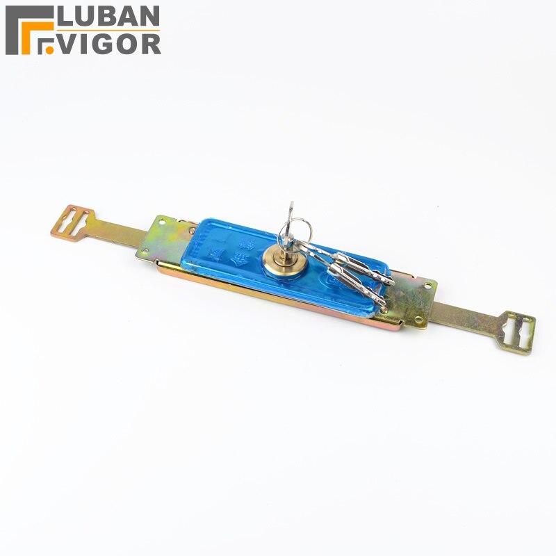 Roller shutter locks Cross anti-theft locks Copper cylinder door ,Easy to install,open state 286mm,Hardware Lock