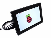 Buy online 10.1 inch HDMI LCD(B)(with case) IPS Display 1280*800 Touchscreen for Raspberry Pi Banana Pi BeagleBone Black Windows 10/8.1/8/7