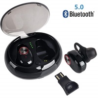 Bluetooth 5.0 Wireless headphones play 7 hours True TWS bluetooth headset Port Cordless earphone for iphone 8 9 xiaomi huawei