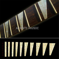Afanti music High grade guitar finger board sticker / Shell decal / finger mark / triangle Inlay (FPD 109)