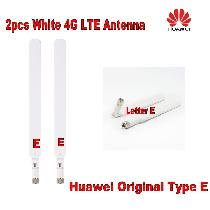 GENUINES Huawei B525 B593 B315 B310 B612 Antenna Pair 2X External Antenna Original Type E (Router Not Included)