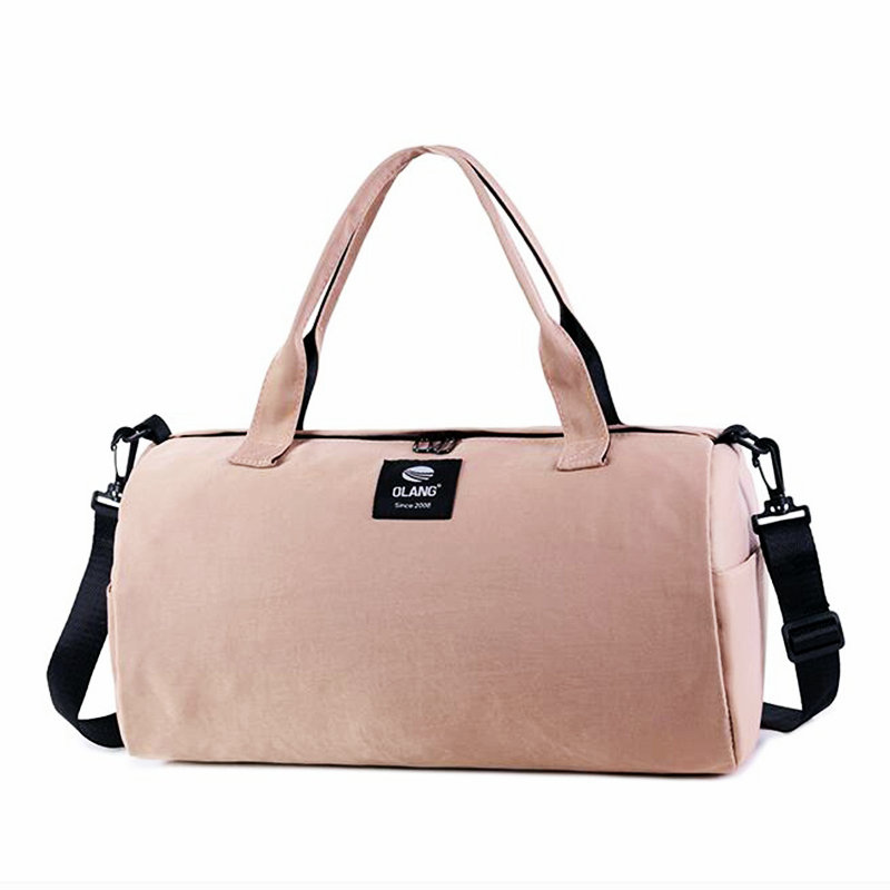 Sport Bag Women For Pink Gym Girl Waterproof Oxford Yoga Bag Lightweight  Outdoor Mens Travel Bag Camping Luggage Shoulder Bag -in Gym Bags from  Sports ... ee9620f939104