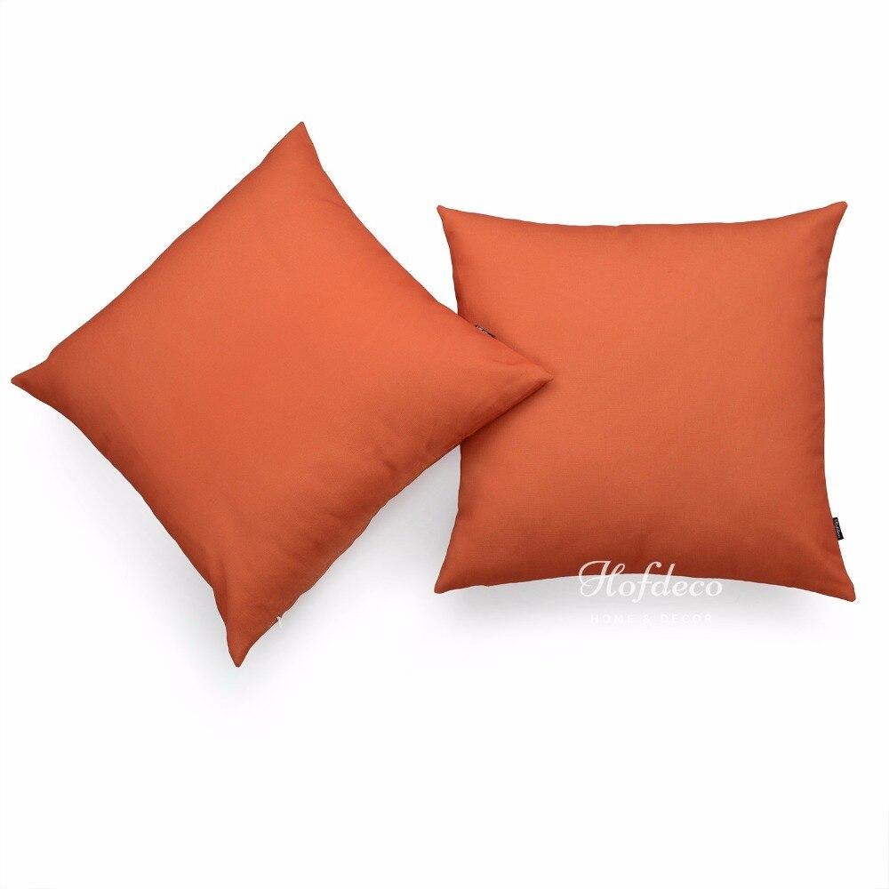 orange sofa pillows