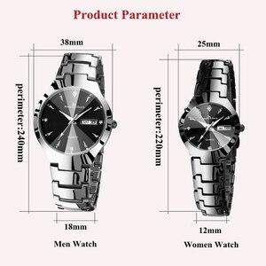Image 2 - HALTEN IN TOUCH Marke Luxus Liebhaber Uhren Quarz Kalender Kleid Frauen Männer Uhr Paare Armbanduhr Uhren Hombre 2020 Mit Box