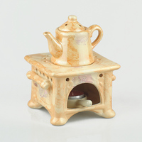 Penghu glance coloured drawing or pattern ceramic aroma stove suit oil candles smoked incense burner sweet lamp