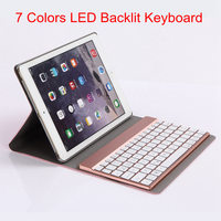 For IPad Air 2 IPad 6 Ultrathin 360 Degree Swivel Rotating Leather Case Stand Cover Detachable