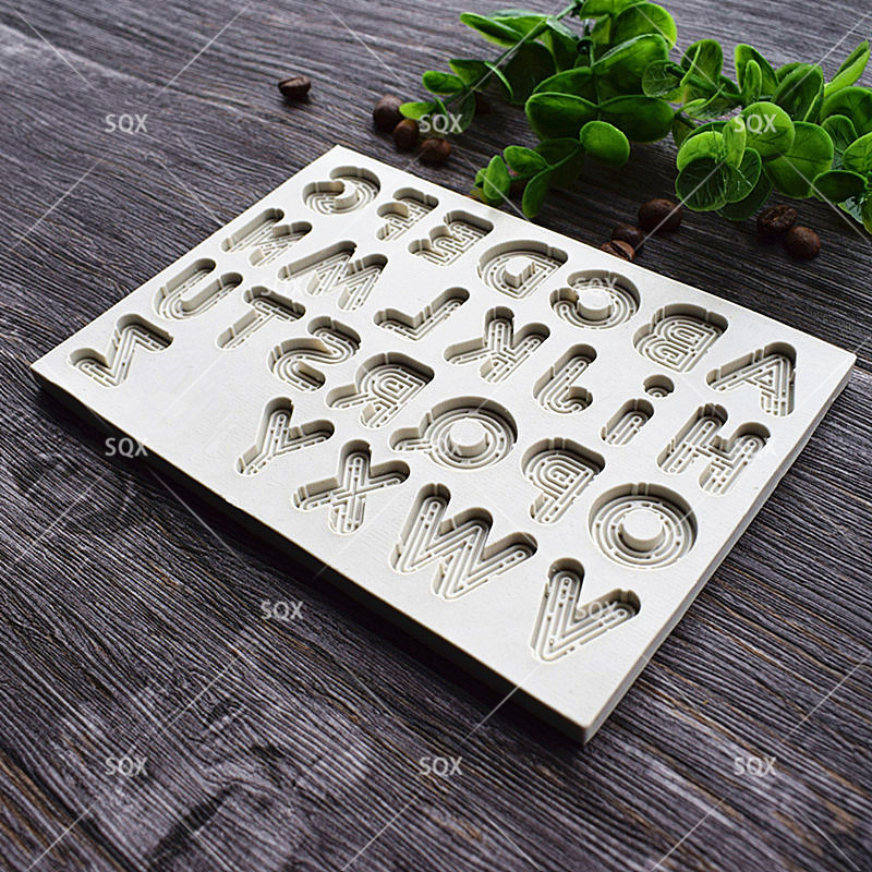 3D Neon Letters Style Cake Mold Kitchen Access - Тағамдар, тамақтану және бар - фото 4