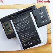 цена на 2PCS 2900mAh C11P1428 Battery For Asus Zenfone 2 Zenfone2 Laser ZE500KL ZE500KG Batteries + 1PCS LCD Wall Charger