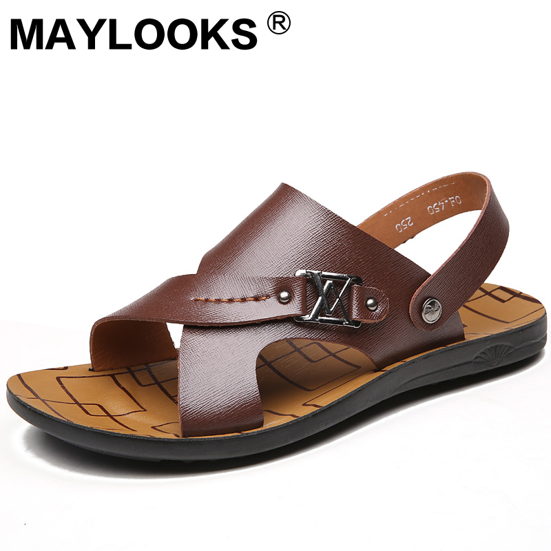 summer new men's sandals fashion2018 breathable casual sandals / slippers M-450