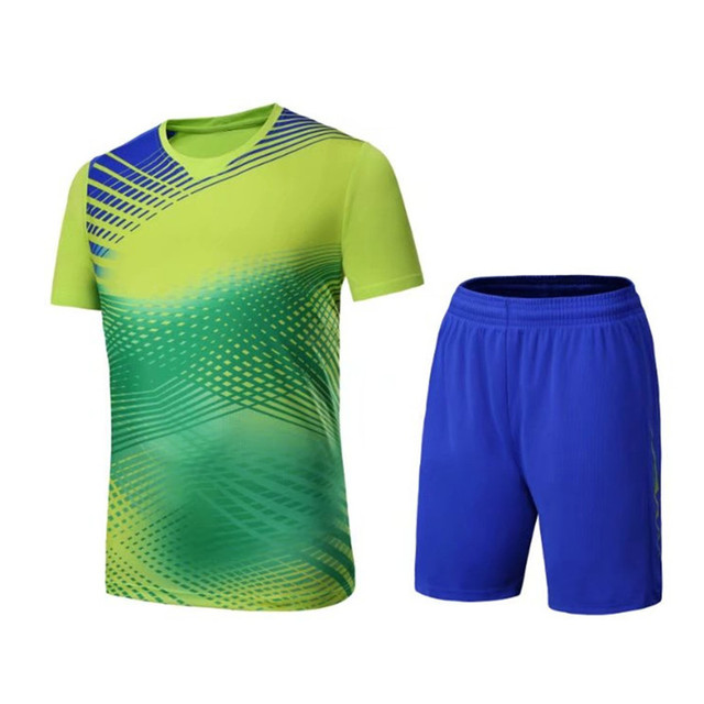 80a292dea New Adult Soccer Jersey Set survetement Football Kit Men Women Youth Futbol  sports Training Uniforms set De Foot Jersey shorts