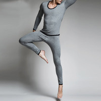 Brand Clothing 2017 Men Long Johns Homens Cotton Men Thermal Underwear Sets Sexy More Thicker Wool