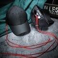Мужчины Моды Длинная Строка Черный Бейсболка Женщины Весна Лето Зонтик Snapback Шляпы Для Детей Gorras