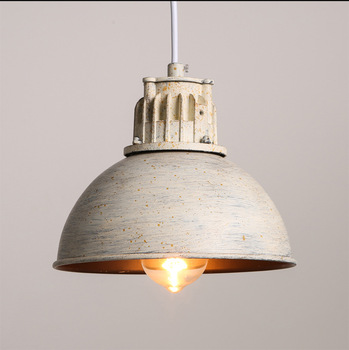 Wrought Iron Single Pot Pendant Lights Retro Industrial Restaurant Shop Cafe Hot Pot Shop Bar Hanging Lamp Light Fixture