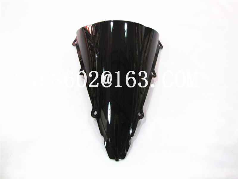 Black HotSale For Yamaha YZF 1000 R1 2002 2003 Windshield WindScreen Double Bubble Yzf R1 02 03