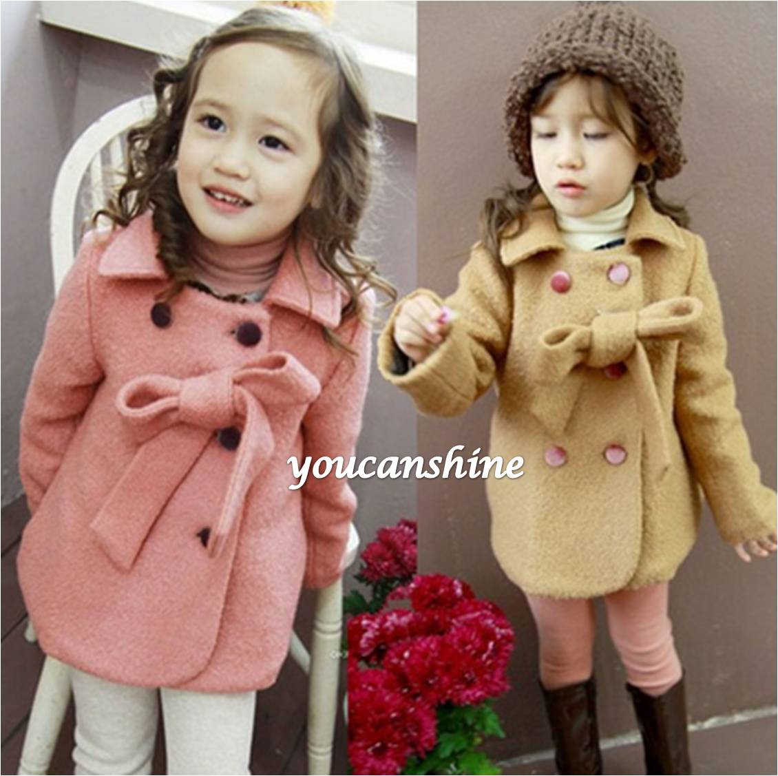 2016 New Fashion Cute Toddler Kid's Baby Girl Winter College ...