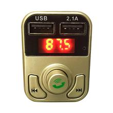 Get more info on the Dual USB Bluetooth4.1 Handsfree Car Kit Charger FM Transmitter MP3 Player A2B3 Dropshipping Mar 19
