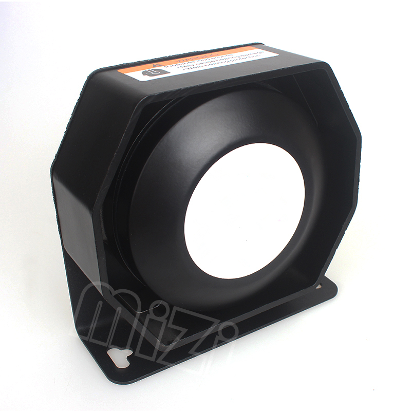 New 200W extra thin Loud Speaker Tweeter for auto car siren Neodymium material 120 130dB horn