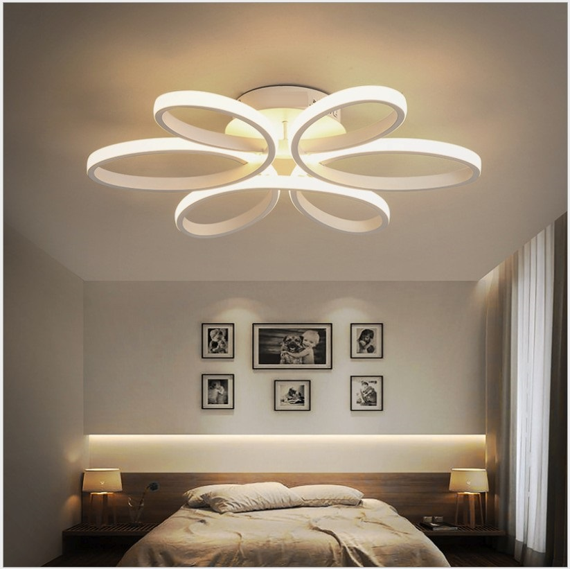 modern led ceiling lights Lighting Fixture Modern Lamp Living Room Bedroom Kitchen Surface Mounted AC85 265V Modern Lamp in Ceiling Lights from Lights Lighting