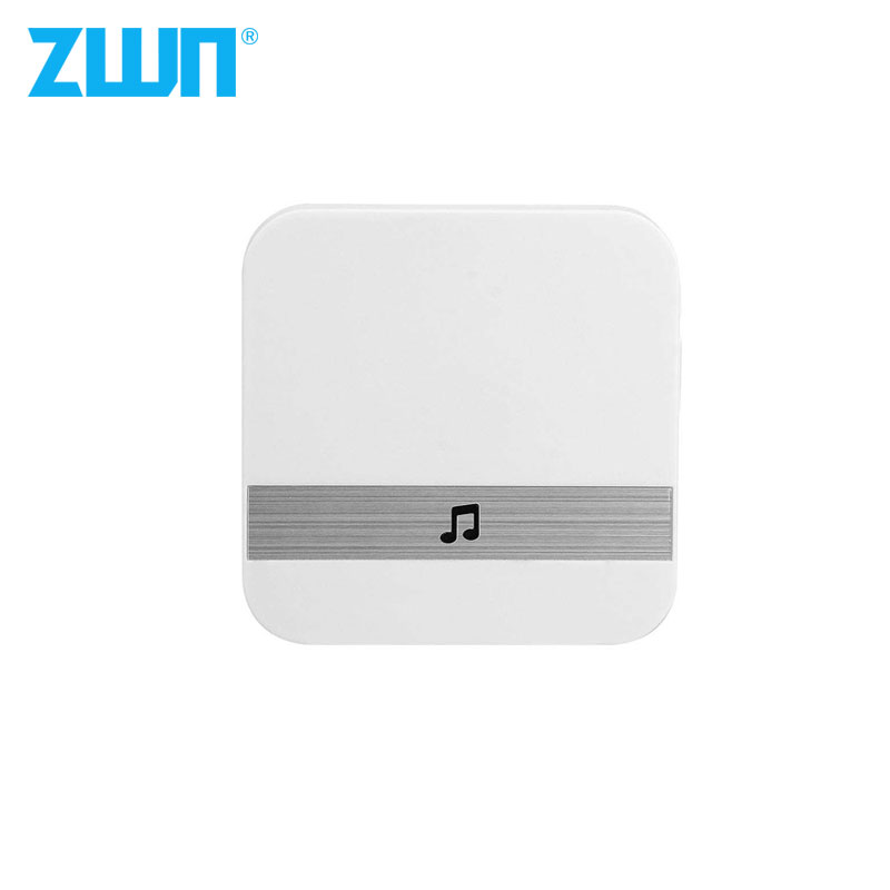 ZWN V5 B10 AC 90V-250V 52 Chimes 110dB Wireless Doorbell Receiver Ding Dong Wifi Doorbell Camera Low Power Consumption Home Door