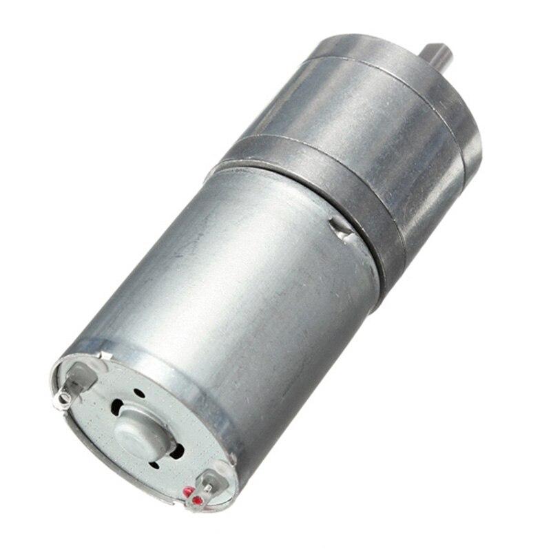 JGA25-370 6 В 12 В 24 В мотор мини замедление dc редукторные двигатели мотор редуктор мотор