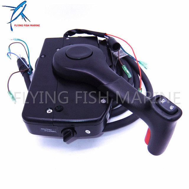 boat motor side mount remote control box 881170a15 with 8 pin for rh aliexpress com