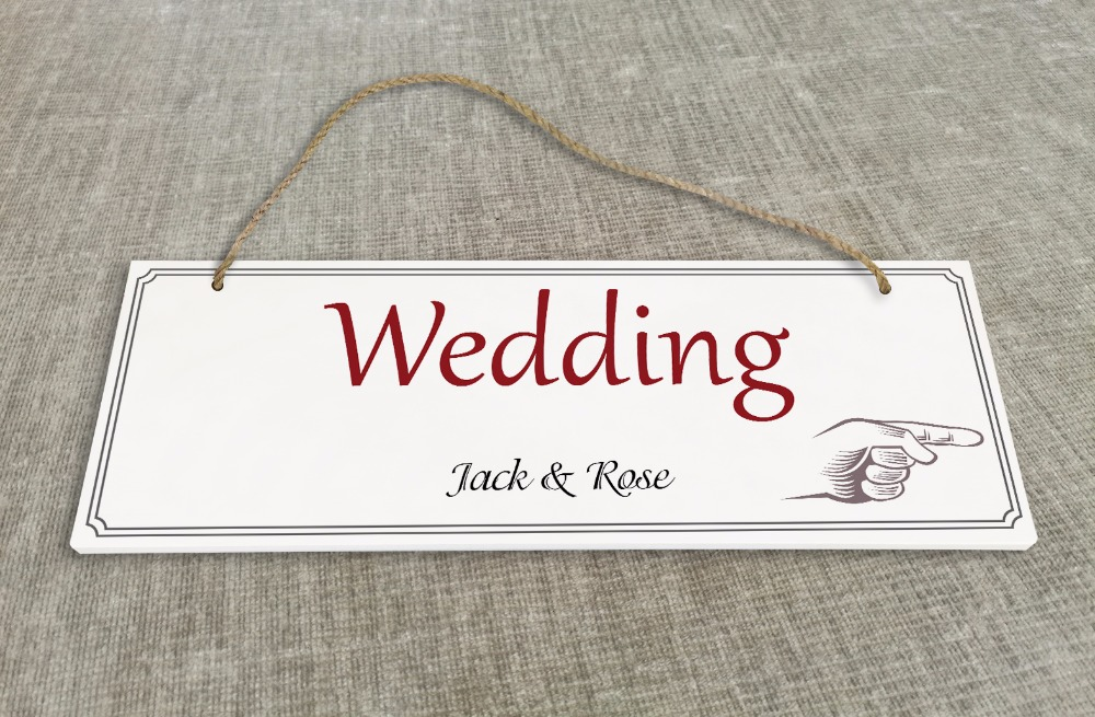 Personalized Outdoor Wedding Reception & Ceremony Decoration Directional Signs wedding sign board Damask style SB010H