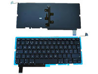 Po Portuguese Keyboard For APPLE Macbook Pro A1286 BLACK With Backlit Board New Laptop Keyboards With