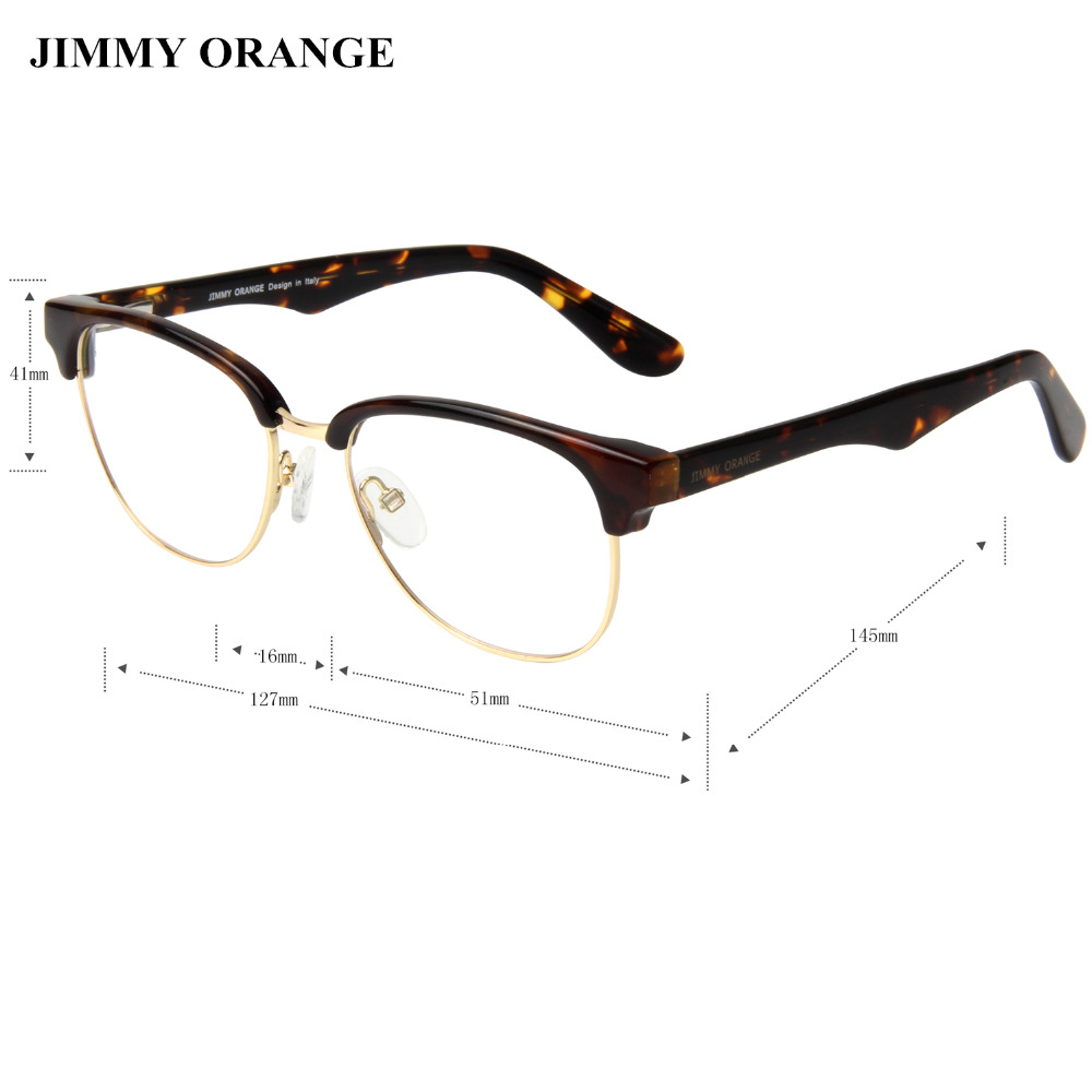 JIMMY ORANGE Oval Gaming Glasses Wanita Pria Mode Komputer Optik Kacamata  Clubmaster di Kacamata Frame dari Aksesoris Pakaian AliExpress.com  b59d1f955a