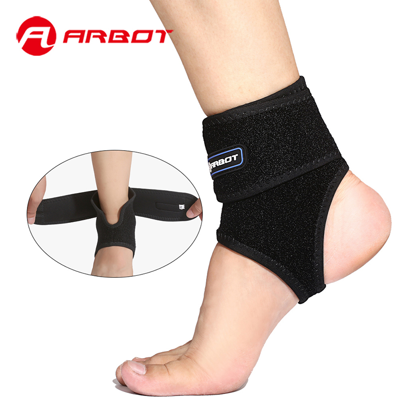 Arbot Adjustable Ankle Support Fitness Sports Ankle Brace Proctor Men Women Basketball Running Safety Ankle Supports