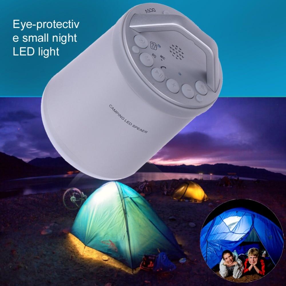 B13 Portable Wireless Mini Bluetooth Speaker Super Bass Boombox Night Light Camping Outdoor Sound Box With Mic TF Card