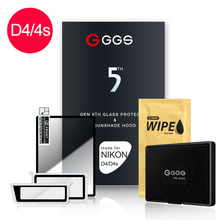 GGS Fifth Generation for NIKON D4  D4S LARMOR screen camera film protection Metal frame embedded optical glass
