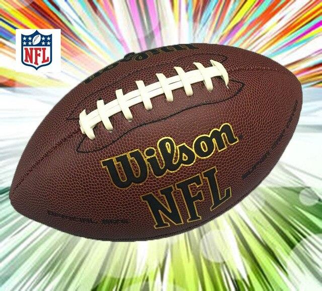 Wilson NEF MVP Supremo Júnior de Futebol Treinamento Bola De Futebol  Americano Ideal Tamanhos 9   e352db26b0a5a