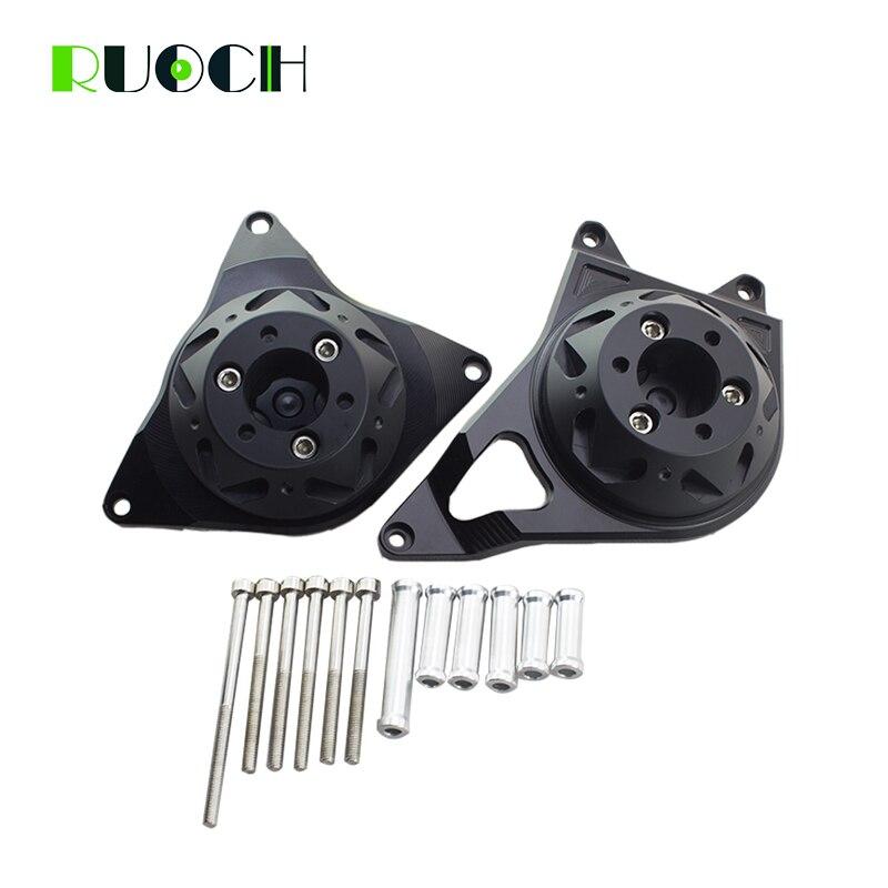 Cadre curseur protecteur pour moto Kawasaki Z900RS CNC en aluminium moteur housse ensemble curseur protecteur garde noir Silve or
