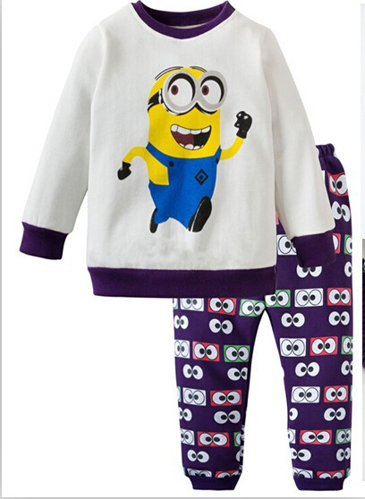 Aliexpress.com : Buy new arrival boys minion pajamas, children ...