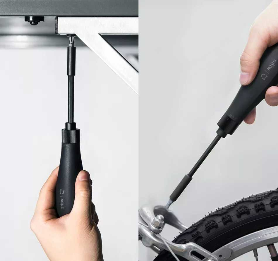 Newest Xiaomi Youpin Wiha Screw Driver 8 In 1 Ratchet Screwdriver Household Screw Driver Repair Tool S2 Alloy Steel