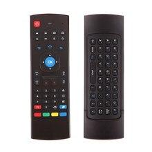 FW1S 2.4 GHz Fly Air Ratón Remoto Teclado Inalámbrico Para Android Smart TV con Control Remoto
