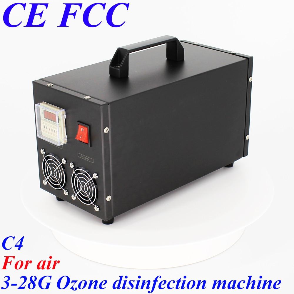 Pinuslongaeva C4 per air 3.5g 7g 14g 28 g/h Portatile in acciaio inox shell ozono macchina disinfezione dell'aria ozono purificatore d'aria