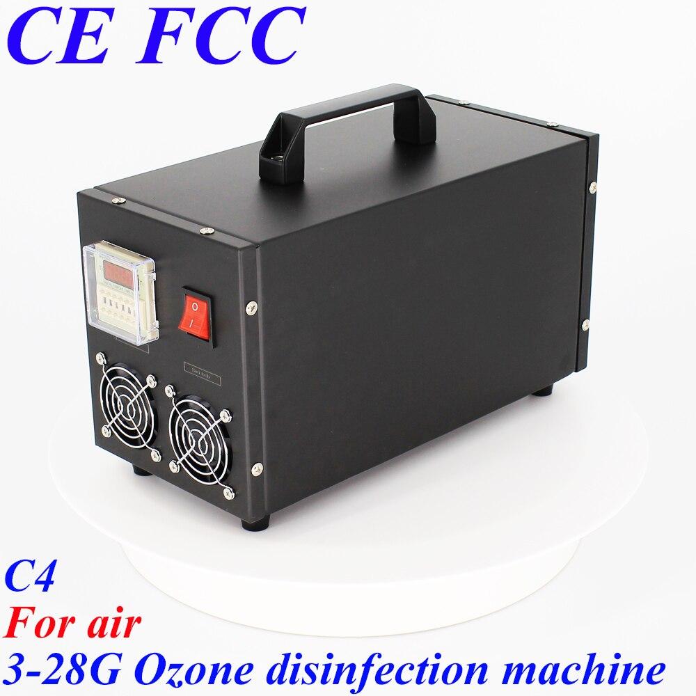 Pinuslongaeva C4 pour air 3.5g 7g 14g 28 g/h Portable en acier inoxydable shell d'ozone machine de désinfection de l'air ozone purificateur d'air