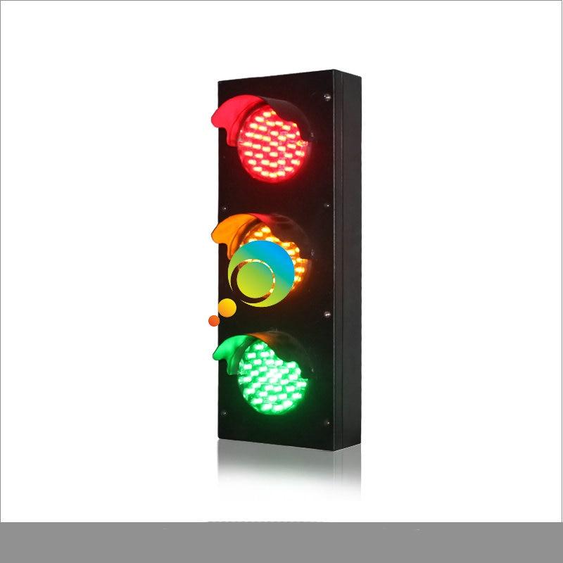 Shenzhen Manufacturer Parking Lots Traffic Light Mini 82mm Traffic Lights For School Teaching Led Traffic Light