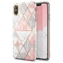 Для iPhone Xs Max Чехол i Blason Cosmo Lite стильный Премиум Гибридный Тонкий защитный бампер мраморный задний Чехол с защитой камеры